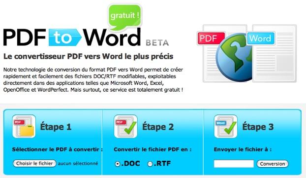 convertir cv en pdf gratuit Pour convertir des PDF en format .DOC | MacGeneration convertir cv en pdf gratuit