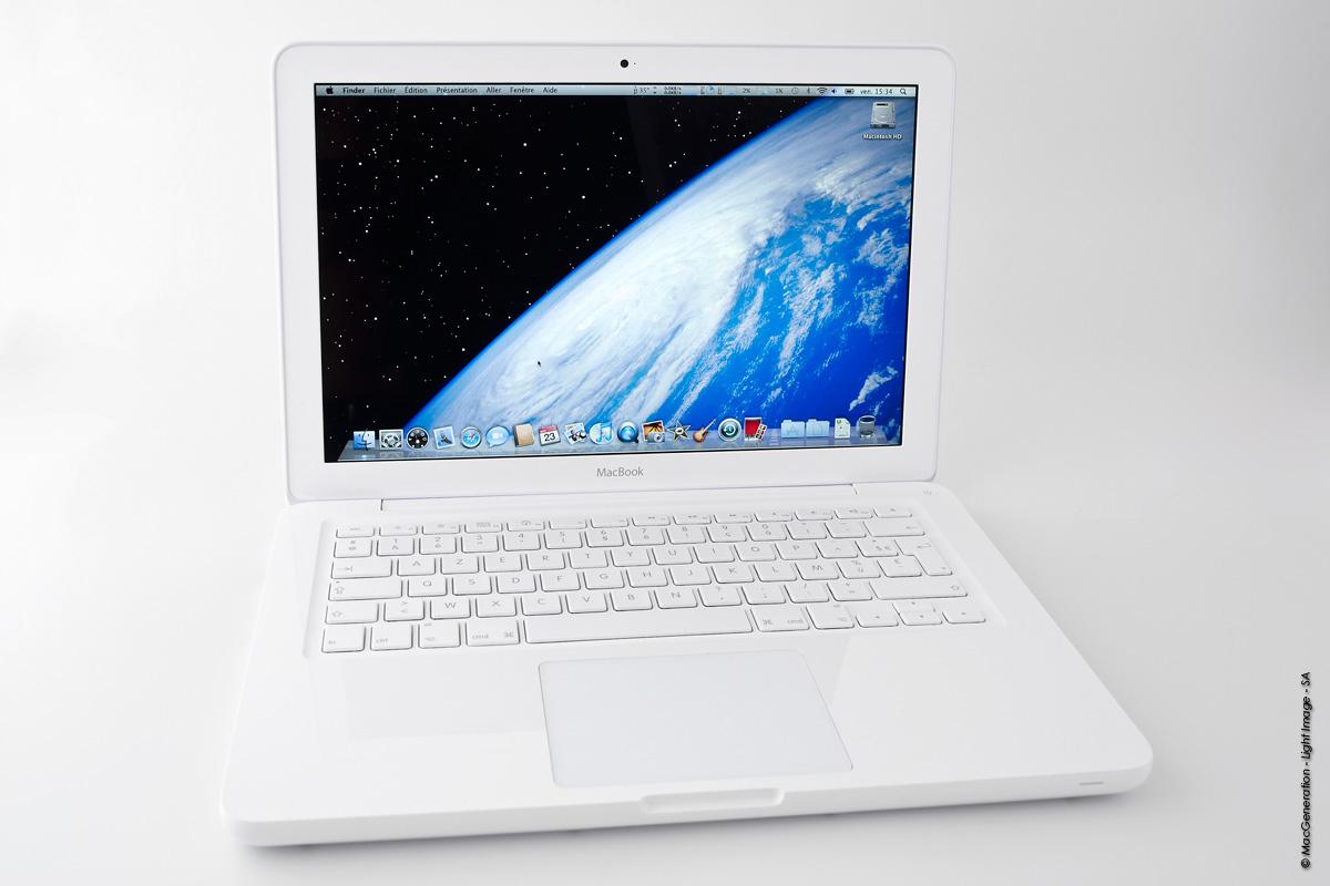tests  test du macbook blanc unibody