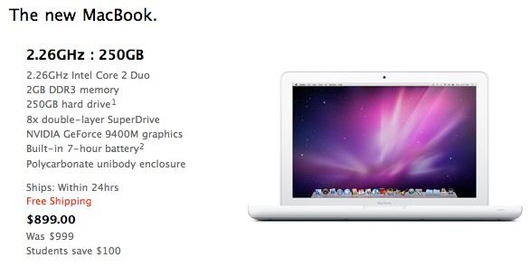 le macbook blanc moins cher sur lapple store education us