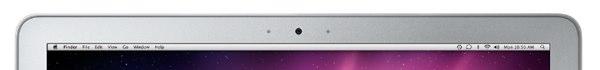 MacBook Air webcam