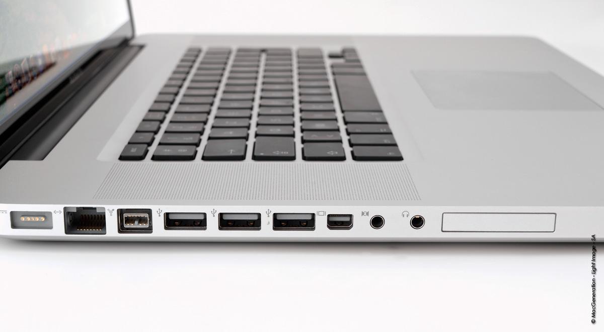 """Test du MacBook Pro 17"""" Core i5 à 2,53 GHz"""