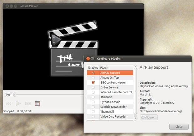 Airplay et linux un plugin pour totem macgeneration