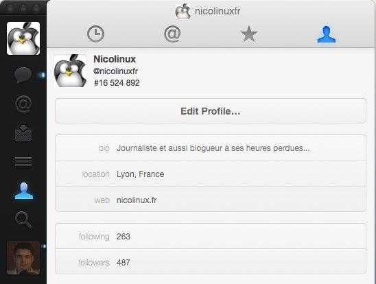 Aperu Complet De Twitter For Mac