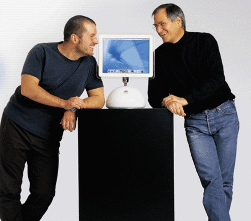 Jon Ive & Steve Jobs