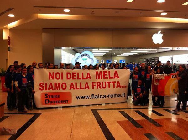 Apple Store grève