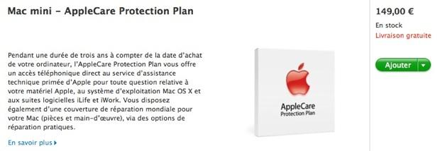 mac mini applecare