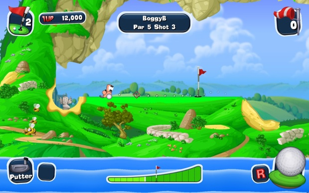 worms crazy golf mac