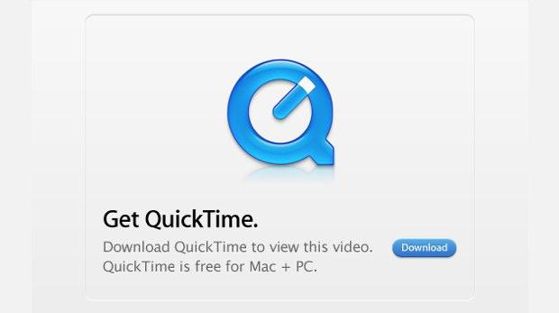 Get QuickTime