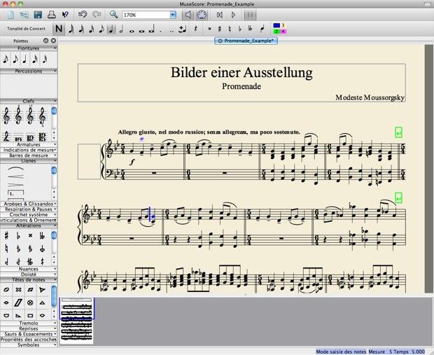 MuseScore : éditeur libre de partitions | MacGeneration