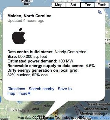 Greenpeace datacenter maiden