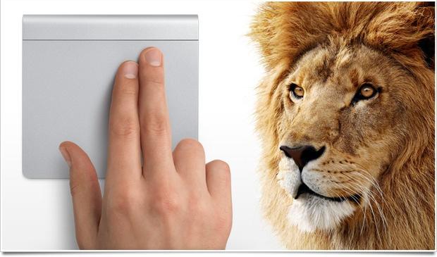 Trackpad lion