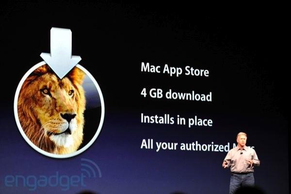 WWDC : Mac OS X Lion en juillet sur le Mac App Store | MacGeneration