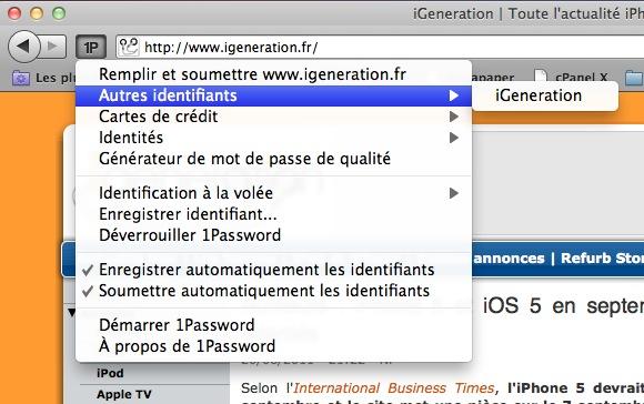 Firefox 5 1Password