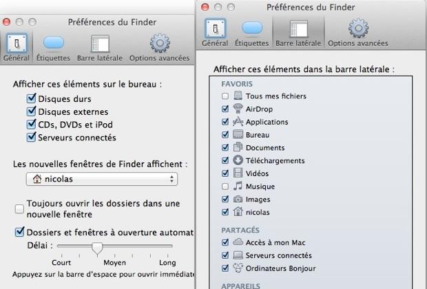 Finder OS X Lion