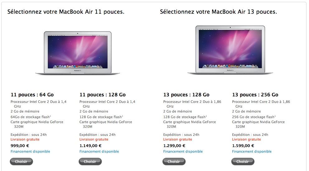 mac  rumeur les details sur nouveaux macbook air et mini