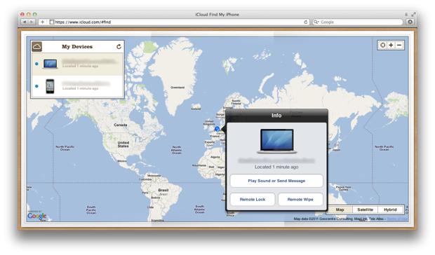 Localiser mon Mac