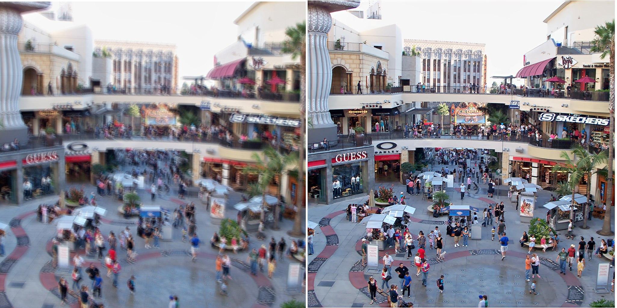 Adobe Retour Sur La Demo De Defloutage Dans Photoshop Macgeneration