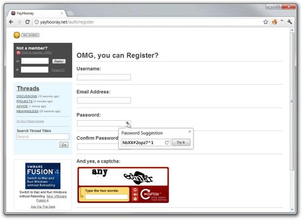 Google prépare un générateur de mots de passe pour Chrome