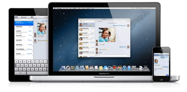 Messages os x mountain lion